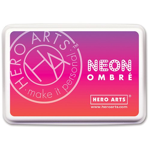Hero Arts - Ombre Ink Pad Neon Red to Purple