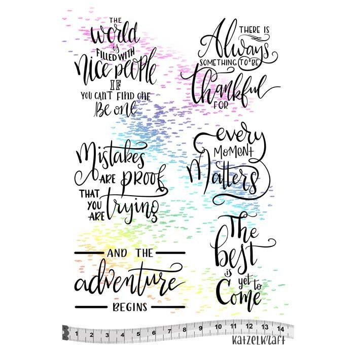 Katzelkraft - Inspirational Quotes - Adventure Begins