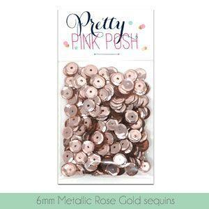 Pretty Pink Posh - Metallic Rose Gold