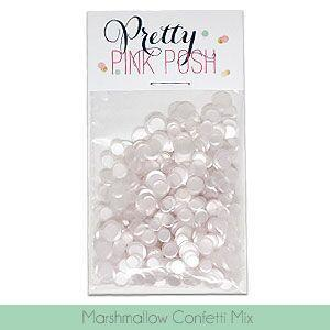 Pretty Pink Posh - Marshmallow Confetti Mix