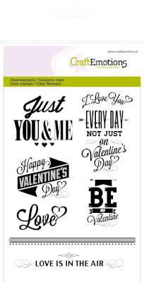 Craft Emotions - Valentine Sentiments