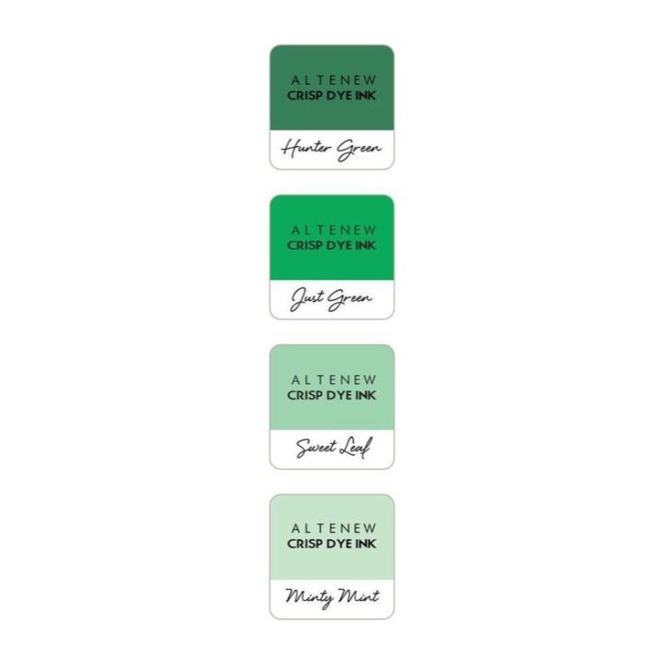 Altenew Dye Ink Cubes - Green Meadows