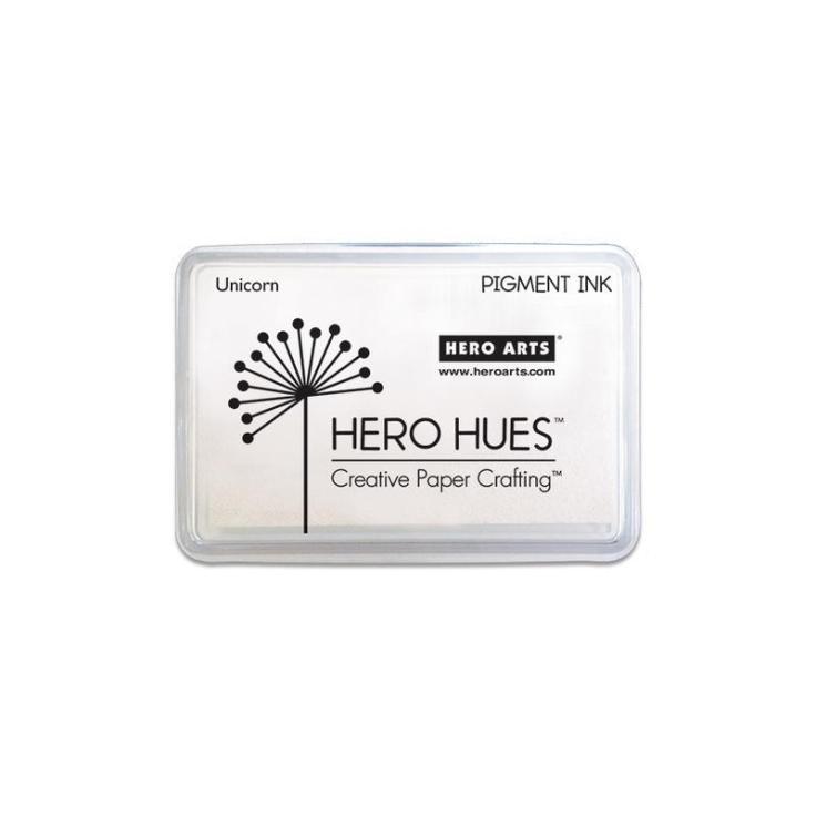 Hero Arts - Pigment Ink Pad - Unicorn White