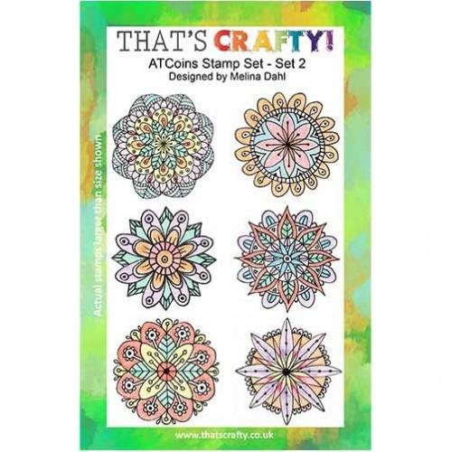 That's Crafty! - Melina Dahl ATC Coins Set 2