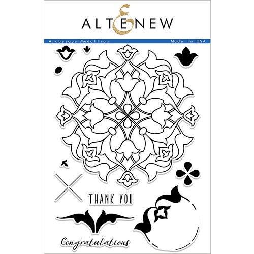 Altenew - Arabesque Medallion