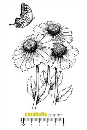 Carabelle Studio - Flower & Butterfly