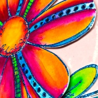 Bright Flower from PaperArtsy