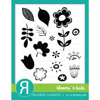Reverse Confetti -  Blooms 'N Buds