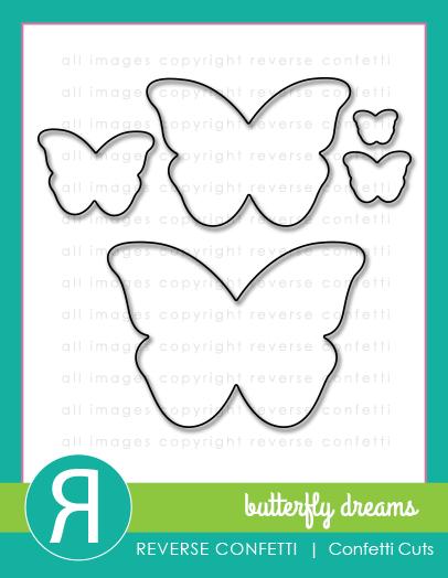 Reverse Confetti - Butterfly Dreams
