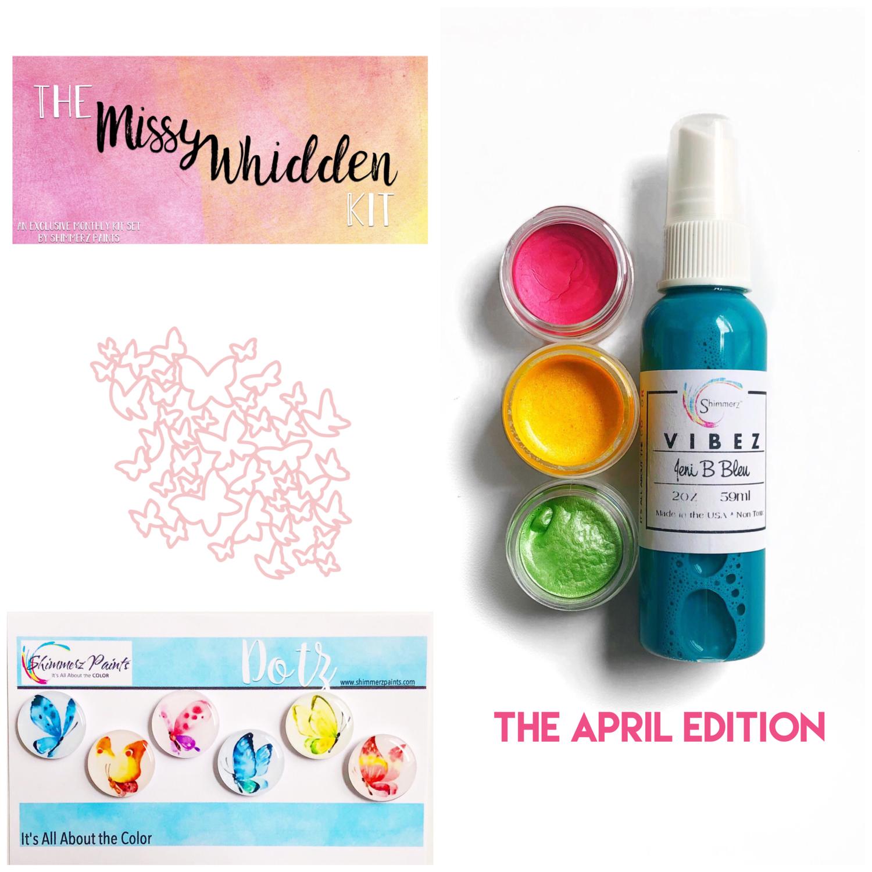 Shimmerz Paints - Color Kitz: The Missy Whidden April Kit