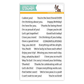 Simon Says Stamps - Messages for Everyday