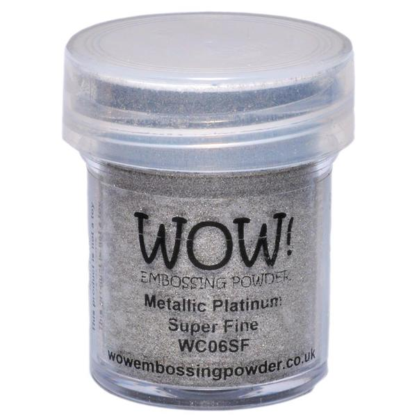WOW Embossing Powder - Metallic Platinum