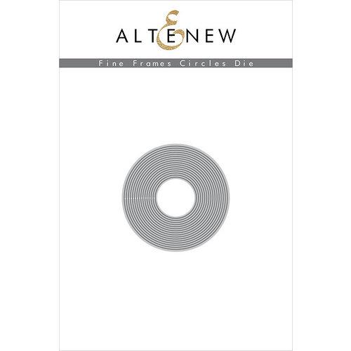Altenew - Fine Frame Circles
