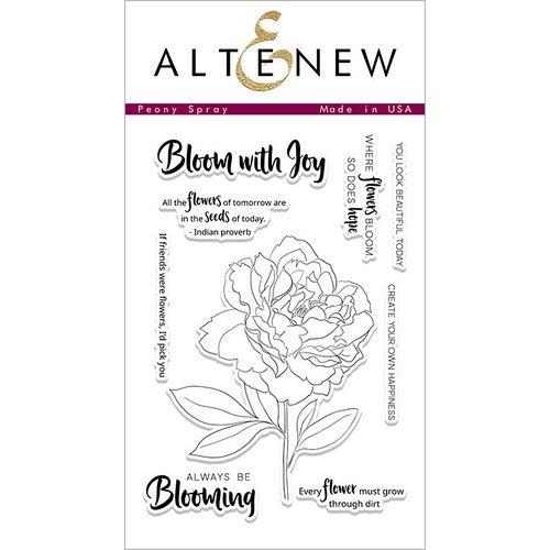Altenew - Peony Spray