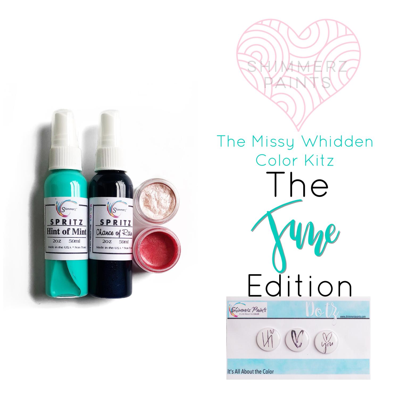 Shimmerz Paints - Missy Whidden Color Kitz - June