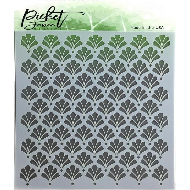 Picket Fence - Floral Damask
