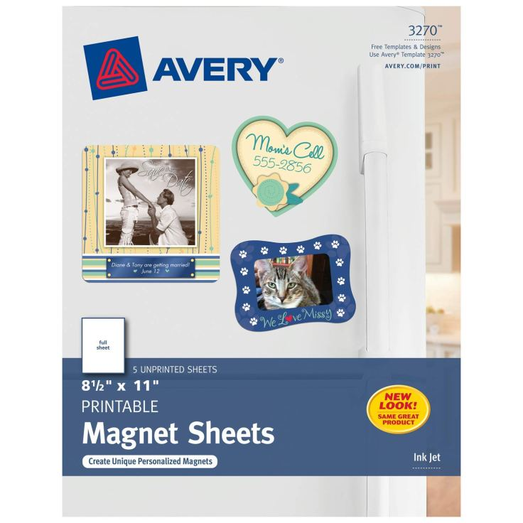 Avery Magnet Sheets