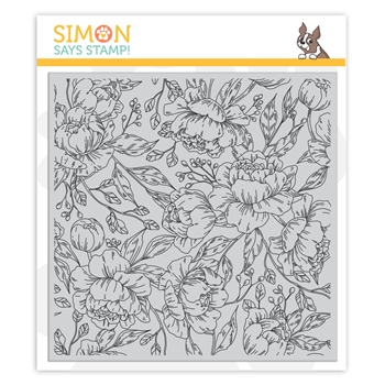 Simon Says Stamp - Pretty Peonies Background