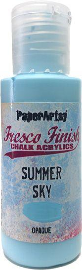 PaperArtsy - Summer Sky Fresco Chalk Paint