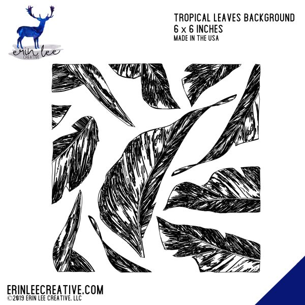Erin Lee Creative - Tropical Leaves
