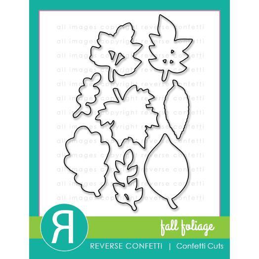 Reverse Confetti - Fall Foliage