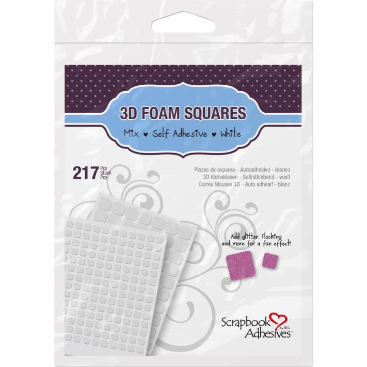 Scrapbook Adhesive - 3D Foam Squares