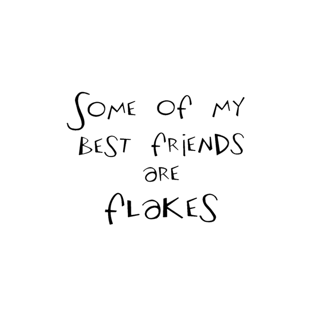 Crackerbox & Suzy Stamps - Friends Are Flakes