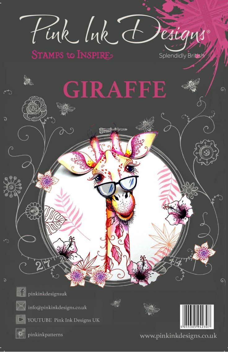 Pink Ink Designs - Giraffe