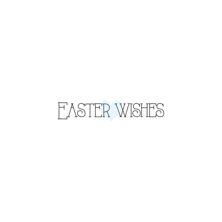 Crackerbox & Suzy Stamp - Easter Wishes