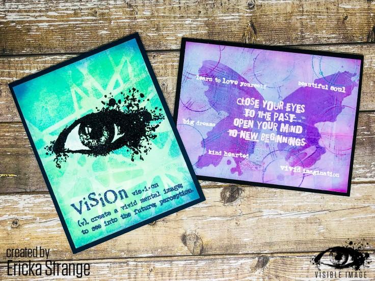 gel print cards