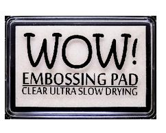 WOW Embossing - Clear Ultra Slow Drying Embossing Pad