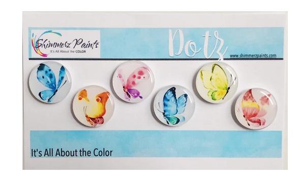 Shimmerz Paints - Dotz -Butterfly Beautifies