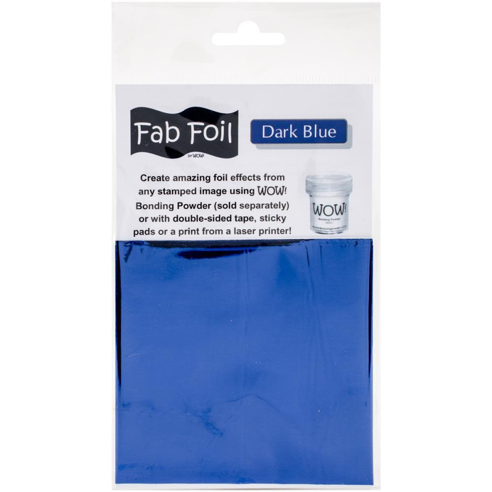 WOW! Embossing - Fab Foil Dark Blue