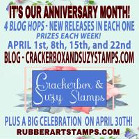 Crackerbox & Suzy Stamp Anniversary