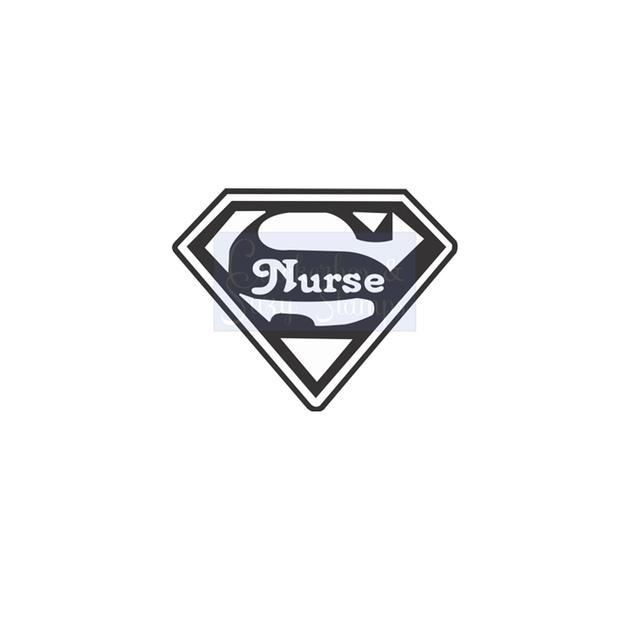 Crackerbox & Suzy Stamps - Super Nurse