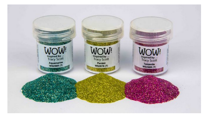 WOW! Embossing - Trio Gemstone
