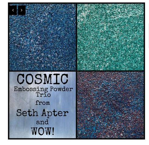 WOW! Embossing - Trio Cosmic Seth Apter