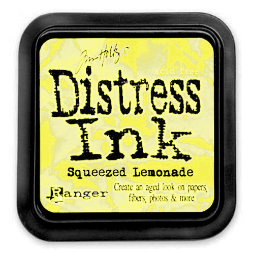 Ranger - Tim Holtz - Distress Ink - Squeezed Lemonade