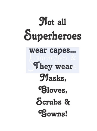 Crackerbox & Suzy Stamps - Not All Superheroes