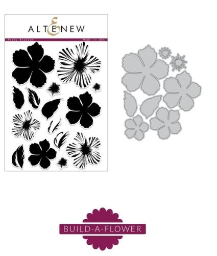 Altenew - Build-A-Flower, Peony Blossom