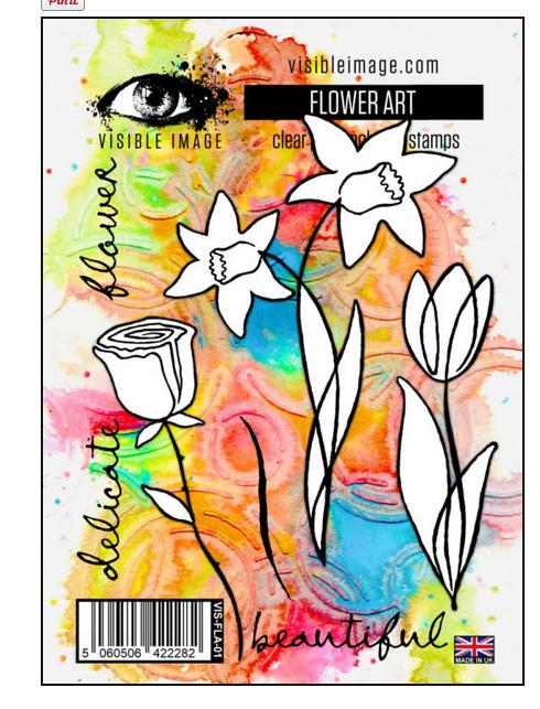 Visible Image - Flower Art