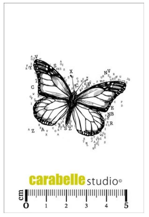 Carabelle Studio - Butterfly Letter