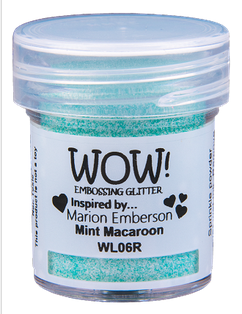 WOW! Embossing - Mint Macaroon