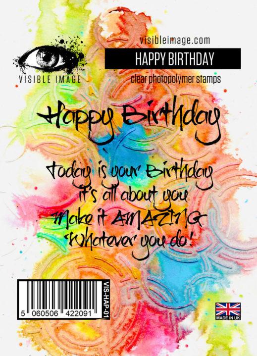 Visible Image - Happy Birthday