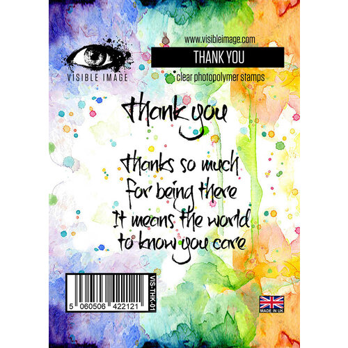 Visible Image - Thank You