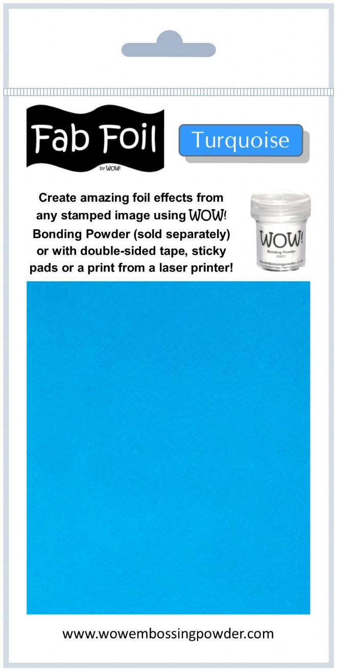 WOW! Embossing - Fab Foil Turquoise