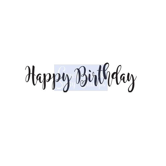 Crackerbox & Suzy Stamps - Birthday 1