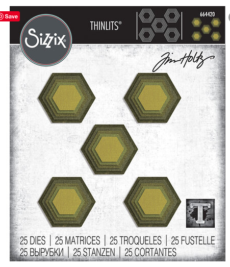 Sizzix - Tim Holz Hexagon