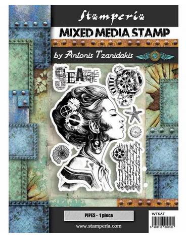 Stamperia - Sea World Lady