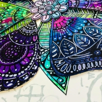 Making Petals with PaperArtsy